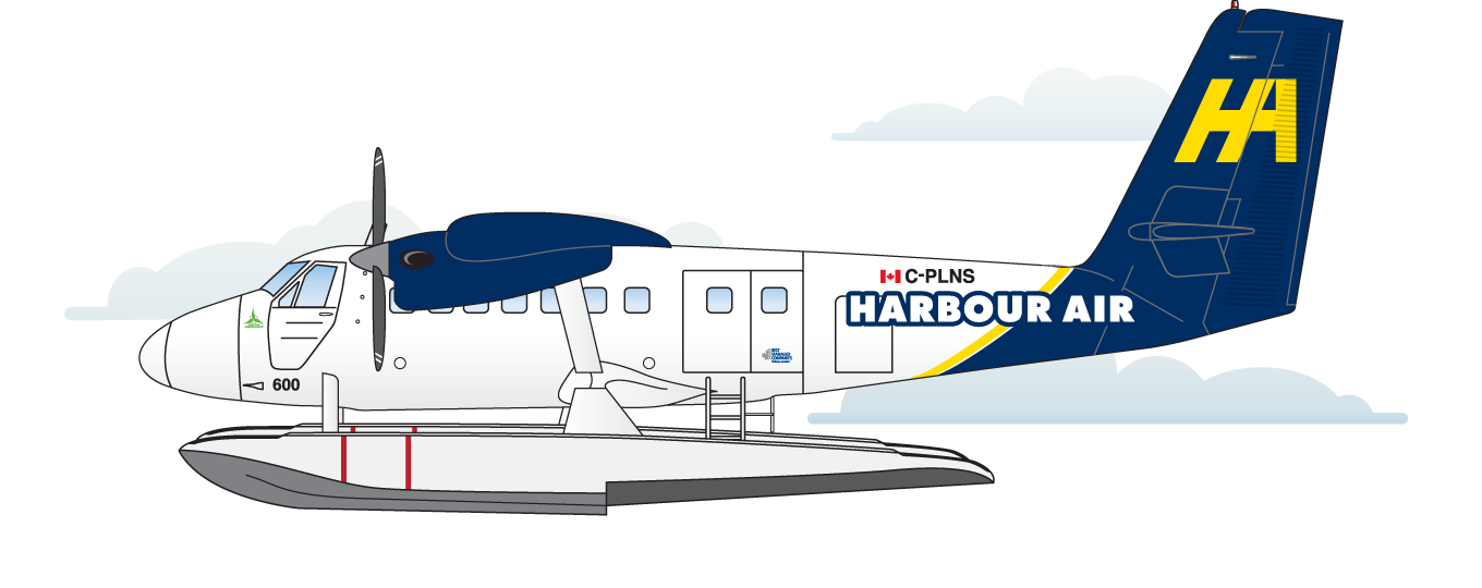 Aircraft Fleet – Harbour Air Seaplanes: World's Largest