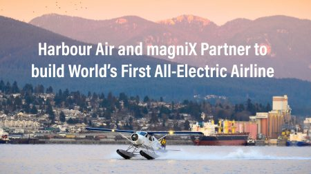 Harbour Air and magniX Partner to Build World's First All-Electric Airline